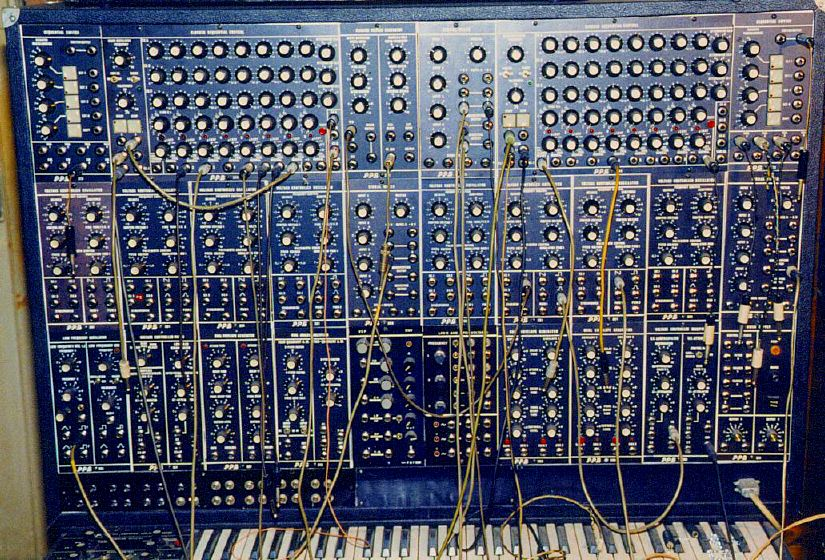 Theis Modular , TMSS Modular Synthesizer analog step sequencer